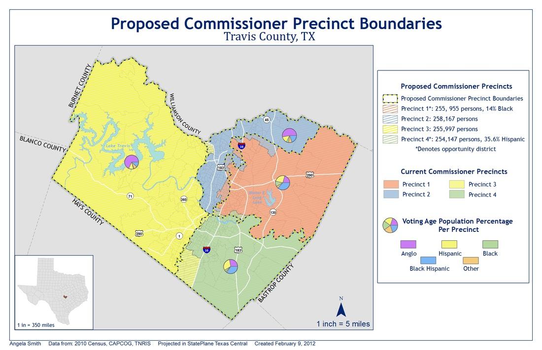 Travis County Redistricting  ACS Map Portfolio